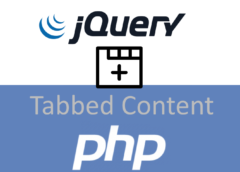 jQuery, PHP ve MySQL ile Dinamik Tabbed Content