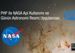 PHP ile NASA Api Kullanımı